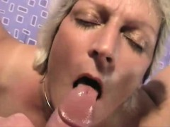 amateur grandma loves the penis and the semen