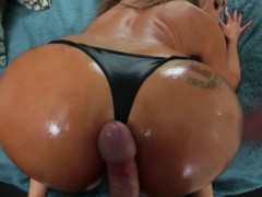 Big Booty Milf Does Her Thing On A Huge Hard Dick