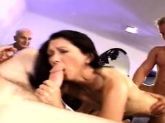 Horny Housewife Fucks A Stranger