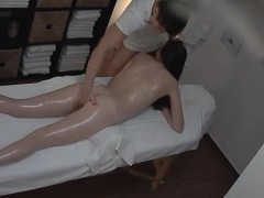 Young Teen Gets Xtra Attention From A Massage
