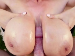 Asian milf pov facialized
