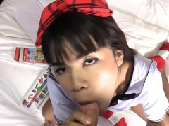 Ladyboy Teenager Pov Blowjob And Missionary Anal Pumped