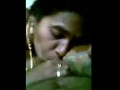 indian amateur gf blowing monster brown penis