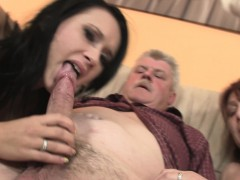 old-man-doggy-fucks-his-brunette-girlfriend