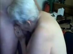 Amateur Cum Loving Granny Drenched In Cum