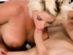 Sneaky Banging Big Titty Blonde Bimbo In Livingroom Chair