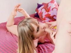 Teen Jenny Diamond Sneaks Bf In Then Blows Him