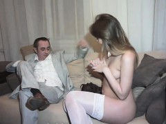 This teeny always does what the guy wants, especially if he
