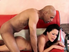 Brunette coed Katie St Ives takes dick from an older guy
