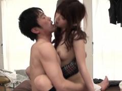 man pounds kinky schoolgirl making her screen in joy