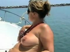 Stepmom In The Ship