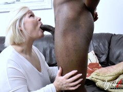agedlove massive black penis and blonde mature chubby