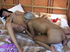 Charming Teen Lesbo Is Willing To Have Some Enjoyment