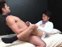 A Hot Asian Hairy Mature Business Man