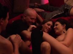 amazing couples enjoying nightlife