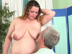 bbw gets her body, vagina and butt massaged
