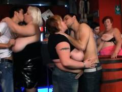Three Bbw Have Fun In The Fat Bar