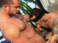muscle-gay-dildo-and-cumshot