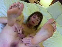 asstoying-femboy-tugging-her-cock