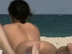 public beach nudist blonde voyeur video WWW.ONSEXO.COM