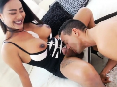 Stunning Tranny And Pervert Man Pounding Each Assholes