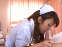 Nurses Sharing Dong In Slutty Scenes During Hot 3some