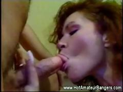Vintage Retro Blowjob Scene