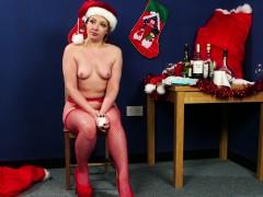 naughty christmas babe cocksucks santa pov WWW.ONSEXO.COM