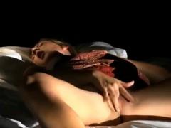 Erotic Masturbation With Blonde