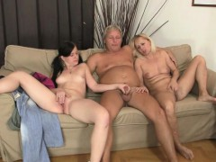 old fossils seduce his girlfriend WWW.ONSEXO.COM