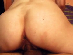 Riding His Hard Dick Makes Me Cum Many Times