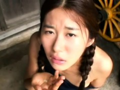 Amateur Hairy Asian Teen Enjoys A Hot Creampie