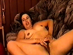 Silf Holly Haris From Birmingham Fingering Her Hairy Cunt