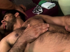 Handsome Guys Sucking Penis After Massage