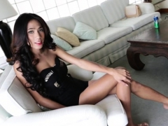 Marvelous Sheboy Bitch With A Big Cock Blows Her Partner