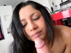 gorgeous babe satisfied by friend
