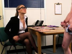 Spex Uk Babe Humiliates Tugging Guy