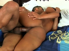 Tanned Brazilian Playgirl Rides Hard Wang