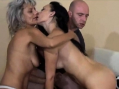 Granny Joins That Horny Couple