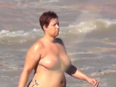 Big Fat Ass On The Beach