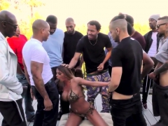 Bukkaked Ho Blows Black