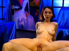 Lia Louise Rides Receiving And Sucking Big Dicks