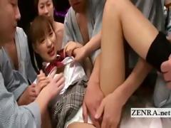 schoolgirl-uniformed-japan-av-star-initiates-gangbang