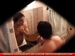 Caught Masturbating In Bathroom
