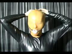 lovely-girl-in-latex-mask-posing