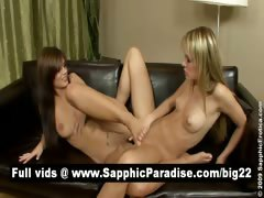 sexy-blonde-and-brunette-lesbos-licking-pussy-and-tribbing
