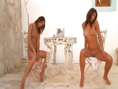 two-italian-chicks-naked-outdoor