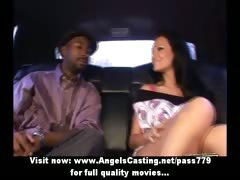 amazing-brunette-girl-talking-with-a-black-man