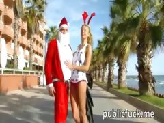 blonde-chick-fucked-by-santa-in-public