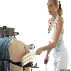 Femdom Moms spanking their naughty boys